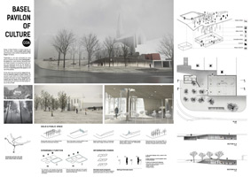 Winners of the Archmedium Basel Pavillion of Cullture Competition