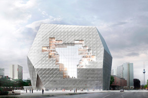 Finalistas del Concurso para el Nuevo Campus Axel Springer
