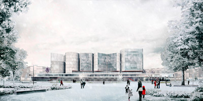 Winner and Finalists of the New NCCA in Moscow