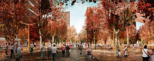 Resultados Espacio Libre de la Plaza de las Glòries de Barcelona