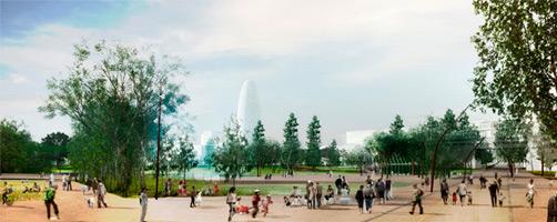 Resultados del Concurso Espacio Libre de la Plaza de las Glòries de Barcelona