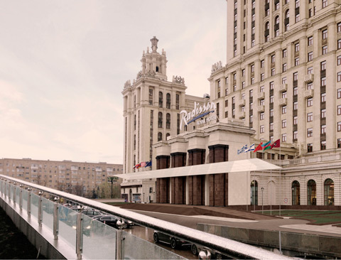 Finalists Announced for Moscow's Ukraina Hotel Entryway Competition