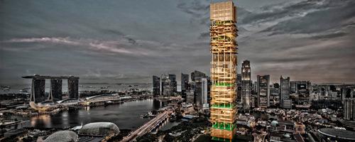 Resultados del Concurso Singapore Bamboo Skyscraper
