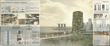 Results of the Competition Bamboo Skyscraper - SINGAPORE