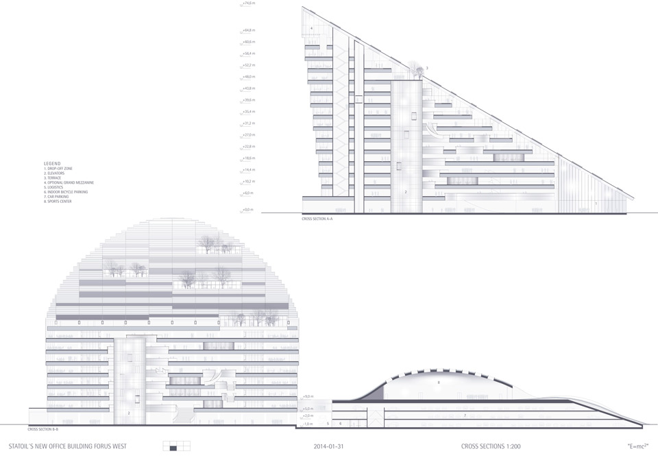 Winner of the Competition New Island School in Hong Kong