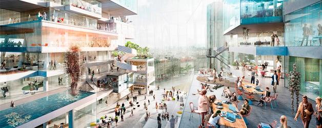 OMA gana el Concurso para el Nuevo Campus Axel Springer